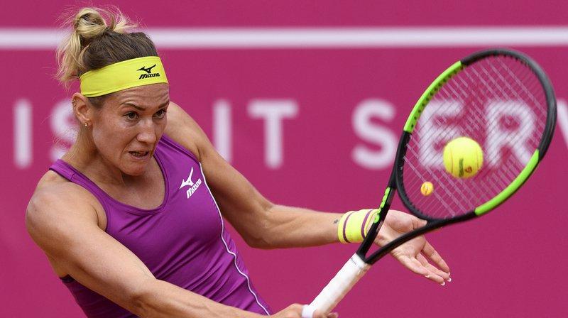 Tennis - WTA de Gstaad: Schnyder, Golubic et Perrin qualifiées pour les 8es de finale, Bacsinszky éliminée