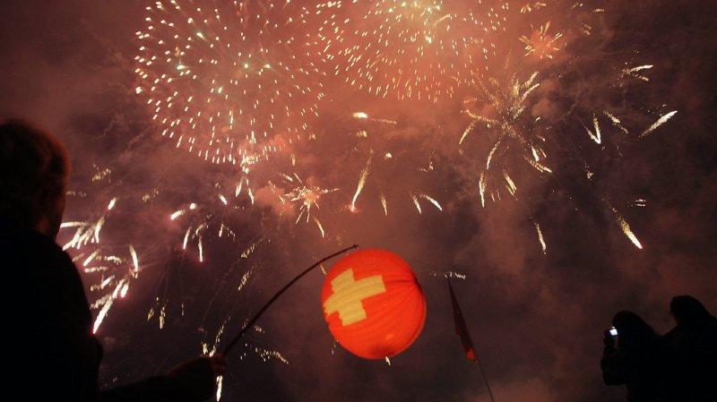 Fête nationale: certains feux d'artifice sont interdits d'importation en Suisse
