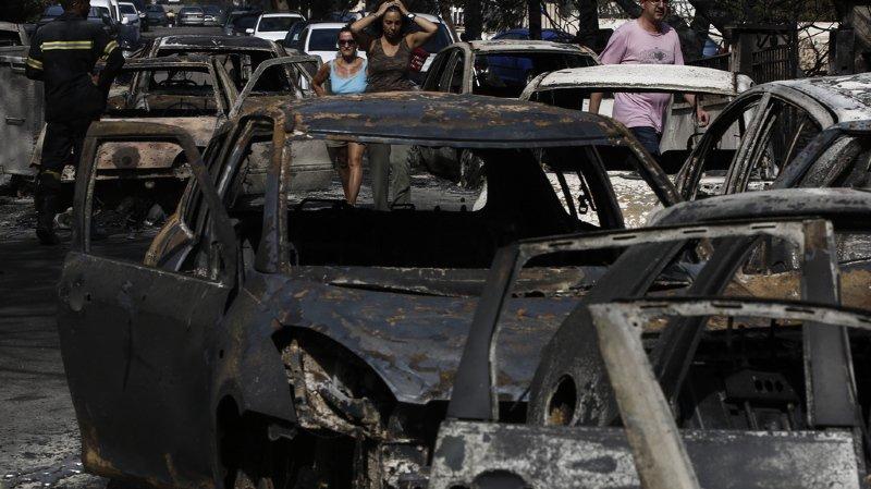Les incendies en Grèce, parmi les plus meurtriers du 21e siècle