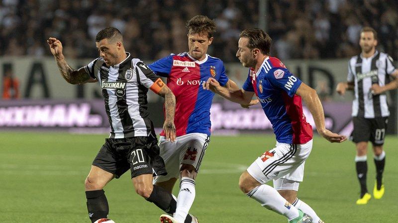 Football - Ligue des champions: Bâle s'incline face au PAOK mais sauve l'essentiel