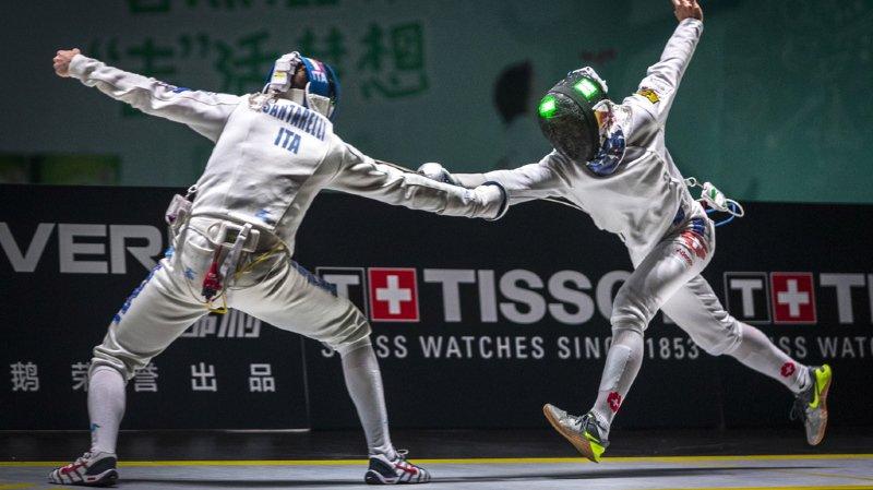 Escrime: l'équipe suisse masculine à l'épée bat la France et se qualifie pour la finale des Mondiaux