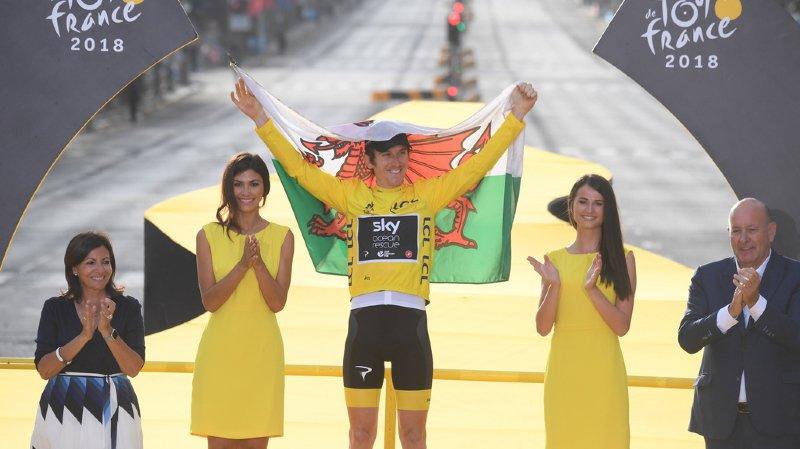 Cyclisme – Tour de France : Geraint Thomas remporte son premier Tour de France