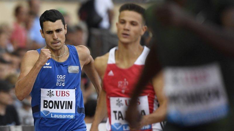 Julien Bonvin (CA Sierre) n'est pas parvenu à améliorer sa meilleure marque sur 400 m haies.