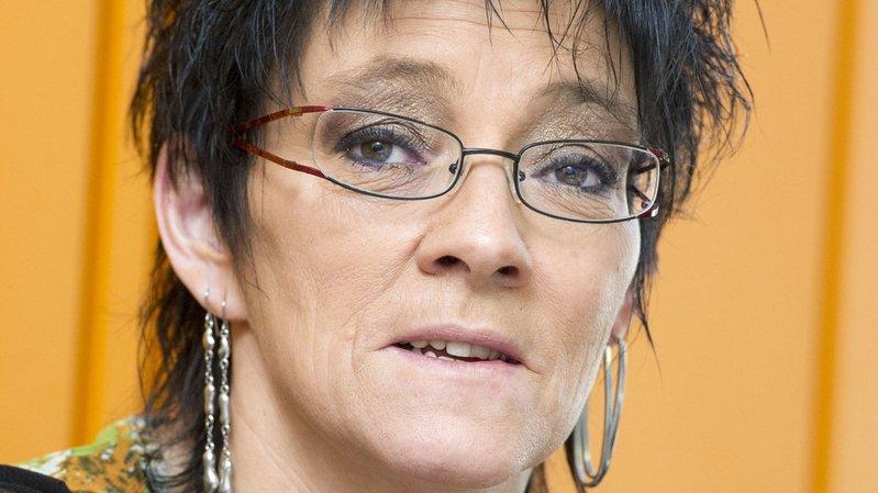 La syndicaliste Elisabeth Di Blasi sera à Vernayaz mardi soir.