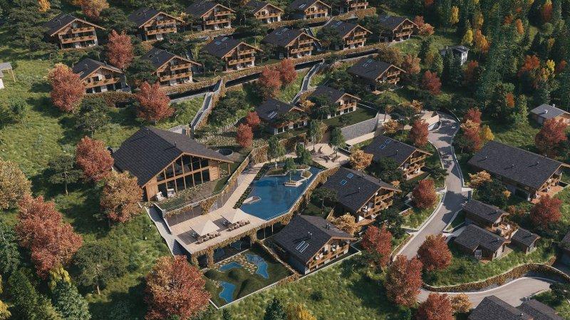 Crans-Montana: le Tribunal cantonal donne raison aux opposants au projet «Lodge de la Reine» d'Aminona