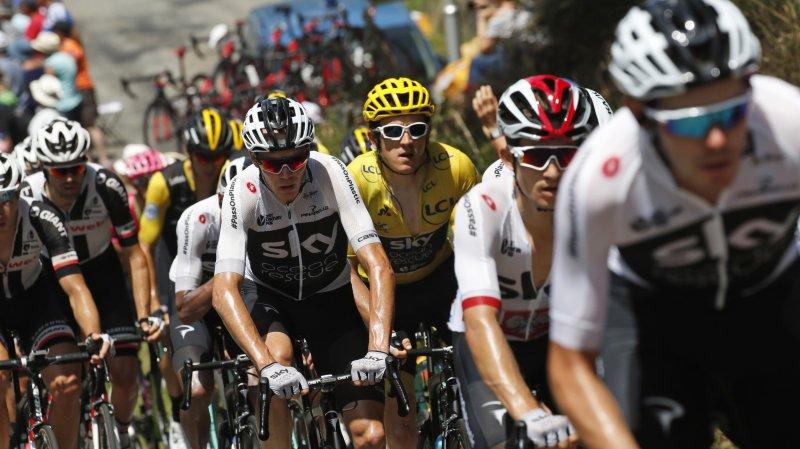 Tour de France: Dumoulin et Roglic pourraient évincer Froome du top 3