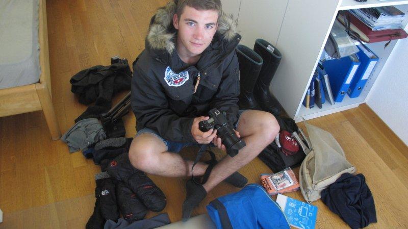 Fully: Antoine Carron s'envole lundi pour participer au Swiss Arctic Project au Svalbard