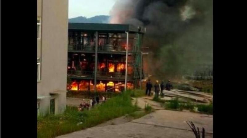 La cause de l'explosion est encore inconnue.