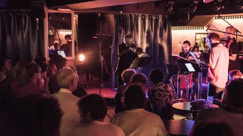 Pour le dernier concert secret du VF Unlimited samedi, le quatuor Brooklyn Rider a eu carte blanche.