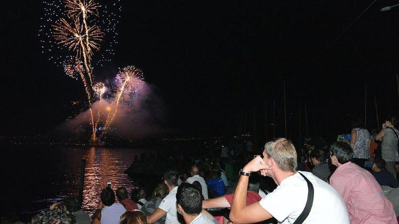 Au Bouveret, les feux d'artifice - tirés sur le lac - auront bel et bien lieu le 31 juillet.