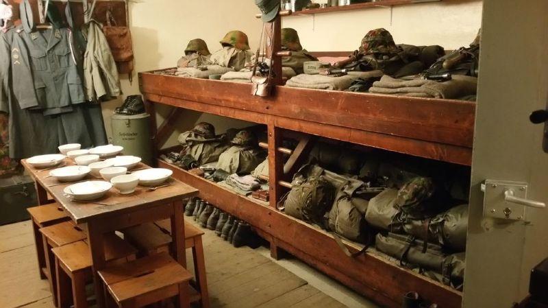 Les curieux pourront découvrir le fort d'infanterie de Litroz, entièrement équipé.