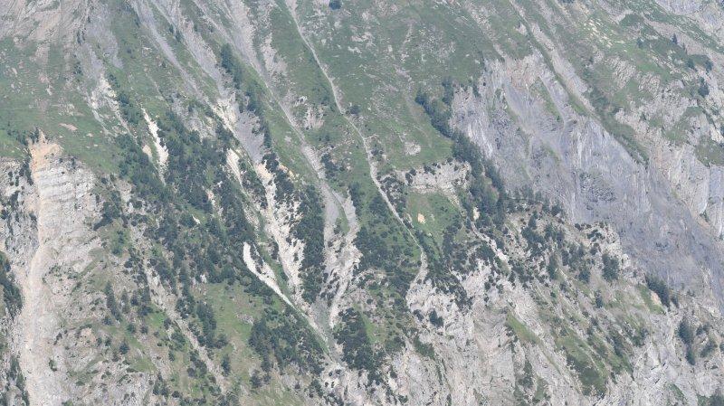 L'accident s'est produit au-dessus d'Ausserberg vers 15h samedi.