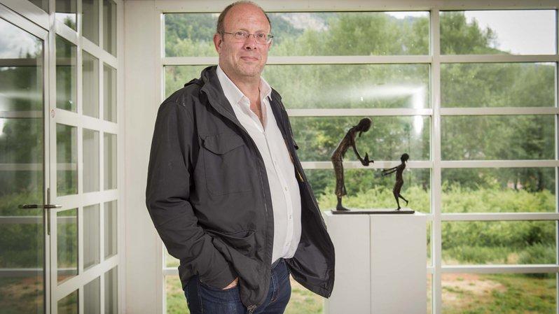 Philip Jaffé à l'Institut universitaire Kurt Bösch à Bramois. C'est grâce à ce lieu que le psychologue est venu s'établir en Valais en 2008.