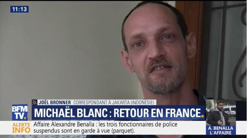 Trafic de drogue: le Français Michaël Blanc quitte l'Indonésie après 14 ans de prison