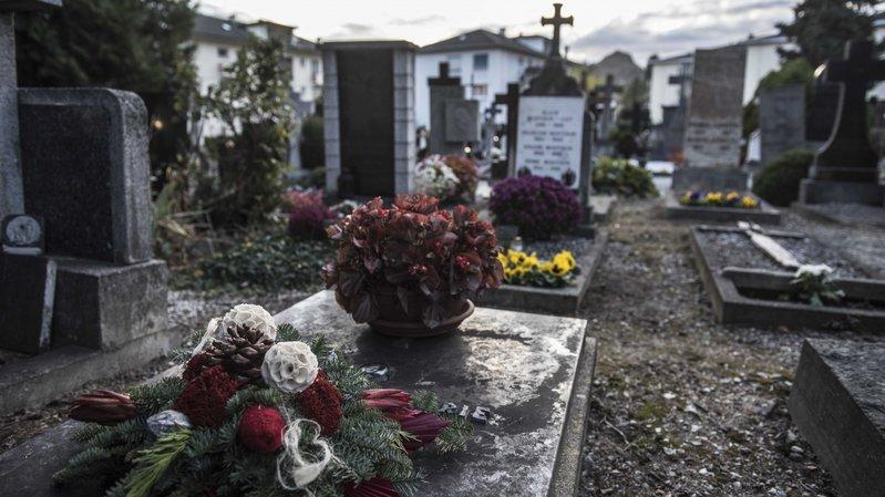 Le nombre de décès a enregistré un record en Valais en 2017.