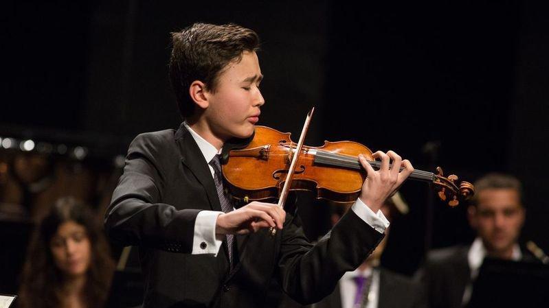 Daniel Lozakovich, l'étoile du violon que le Verbier Festival a lancée