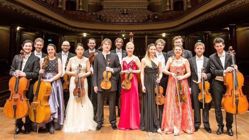 Les solistes de l'Académie Menuhin se produiront à Champéry le lundi 13 août.
