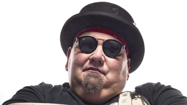 Popa Chubby, l'une des stars du Sierre Blues Festival qui fête ses dix ans.