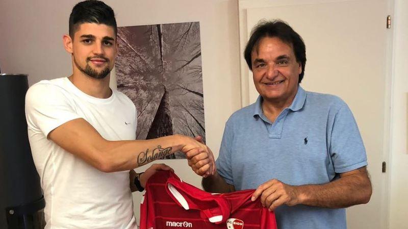 Une nouvelle recrue au FC Sion.