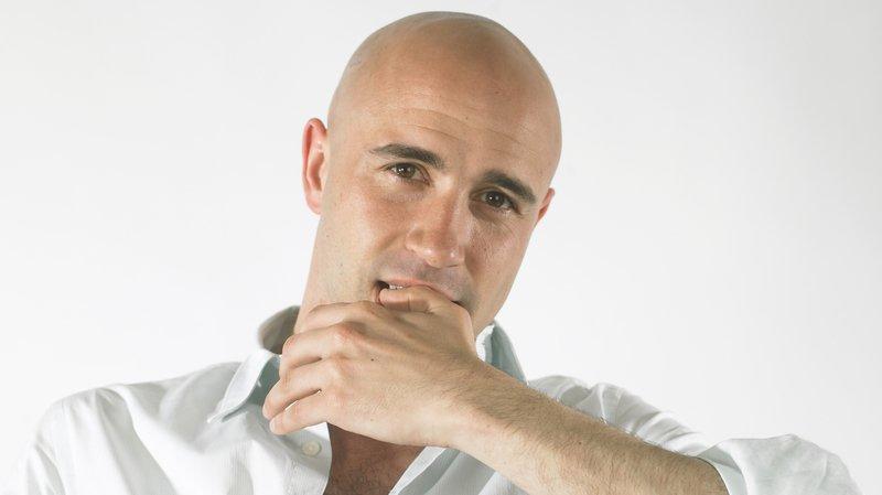 Frédéric Recrosio, humoriste.