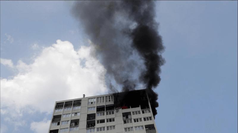 Paris: une femme et 3 enfants sont morts jeudi dans l'incendie d'une tour à Aubervilliers