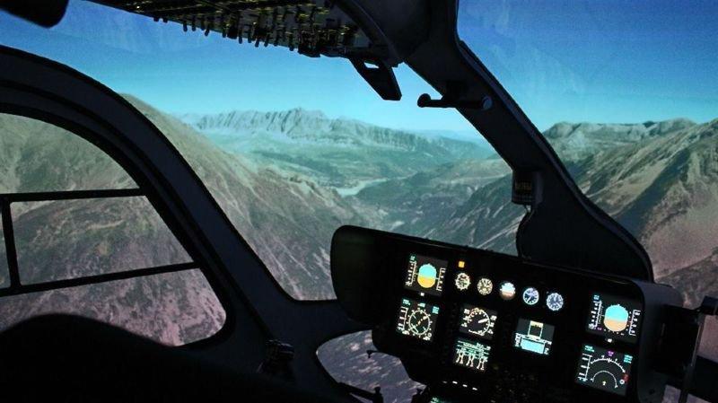 Le futur centre de formation de Sion abritera même un simulateur de bol en hélicoptère auquel le grand public pourrait avoir accès occasionnellement.