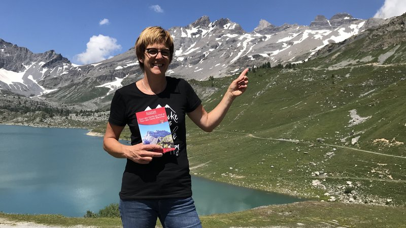 Fabienne Marclay, présidente de l'association du Tour des Dents du Midi.
