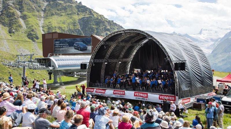 Le Verbier Festival aime prendre l'air avec des concerts sur l'alpe qui ont fait sa réputation.