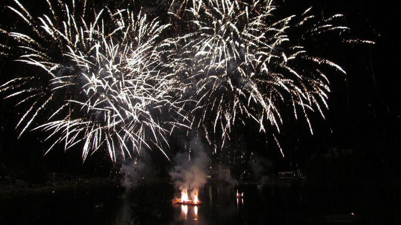 Le lac Grenon servira de cadre au feu d'artifice à Crans-Montana.