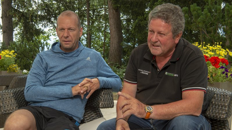 Marc Biolley et Walter Loser tentent chaque année d'attirer des grands clubs européens en Valais.