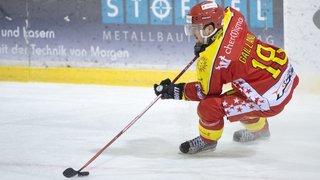 Jérémy Gailland signe un contrat de deux ans en faveur du HC Valais-Chablais
