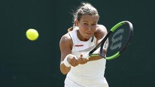 Tennis: la Haut-Valaisanne Ylena In-Albon grimpe de 300 places en sept mois