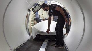 """Mobilité: l'équipe de l'EPFL termine troisième au concours """"Hyperloop"""""""
