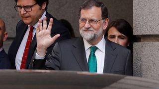 Espagne: Mariano Rajoy a tenu son dernier discours en tant que chef du Parti populaire
