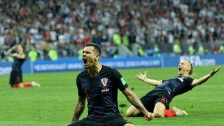 La victoire des Croates en images