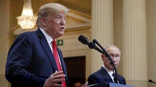 États-Unis/Russie: Trump admet l'ingérence des Russes dans la présidentielle de 2016