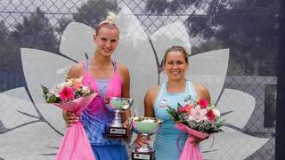 Tennis: la Haut-Valaisanne Ylena In-Albon remporte son quatrième tournoi ITF de l'année