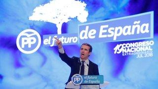 Pablo Casado, le nouveau chef de la droite
