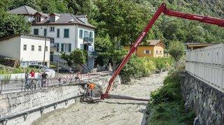 Les intempéries ont causé pour au moins 70 millions de francs de dégâts au Valais en 2018
