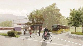 Vouvry: la gare sera transformée en hub d'ici à la fin de l'année
