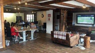 Coworking: ce Valais qui fait de l'œil aux nomades numériques