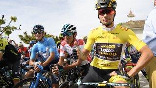 Le cycliste professionnel Primoz Roglic sera au départ du Tour des stations