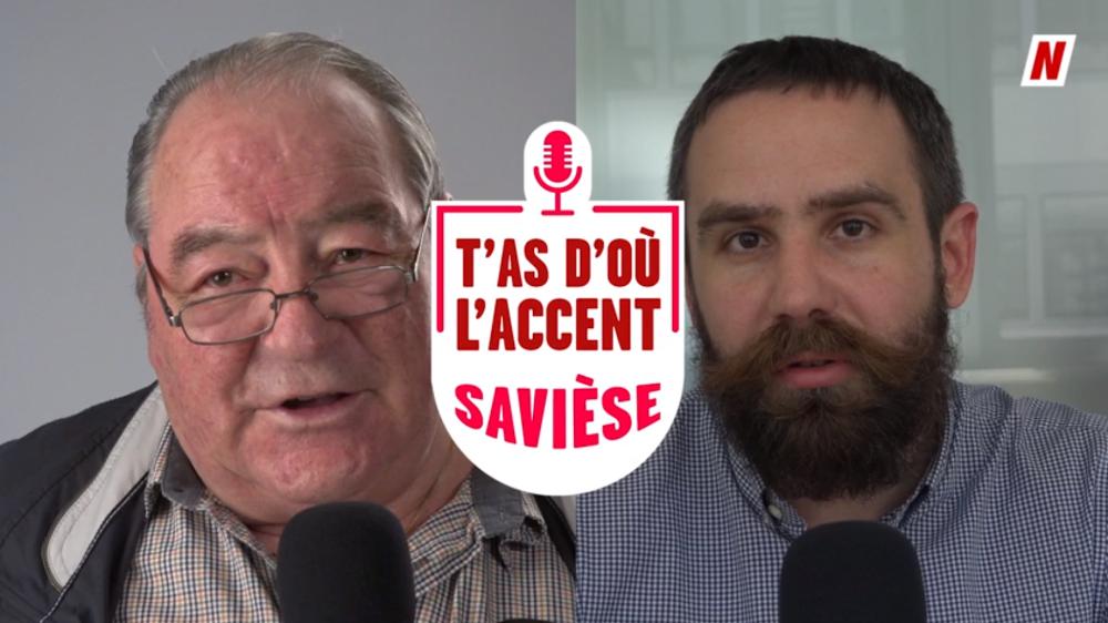 Le linguiste français Mathieu Avanzi analyse l'accent du Saviésan Gérard Debons.