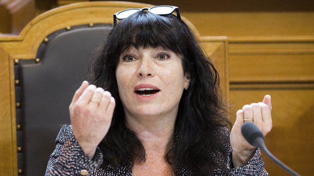 """Grève des femmes en juin 2019: """"Sur les vingt dernières années, je trouve qu'on vit plutôt un retour en arrière"""", dixit Géraldine Savary"""