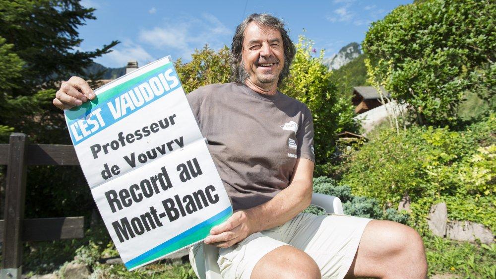 Jacques Berlie a détenu le record de l'ascension du mont Blanc durant huit jours en 1988.