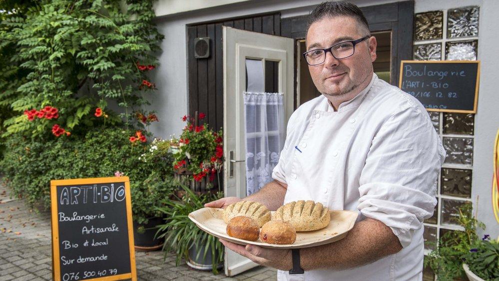 Salvatore Cirillo est le premier boulanger végétalien de Suisse romande.