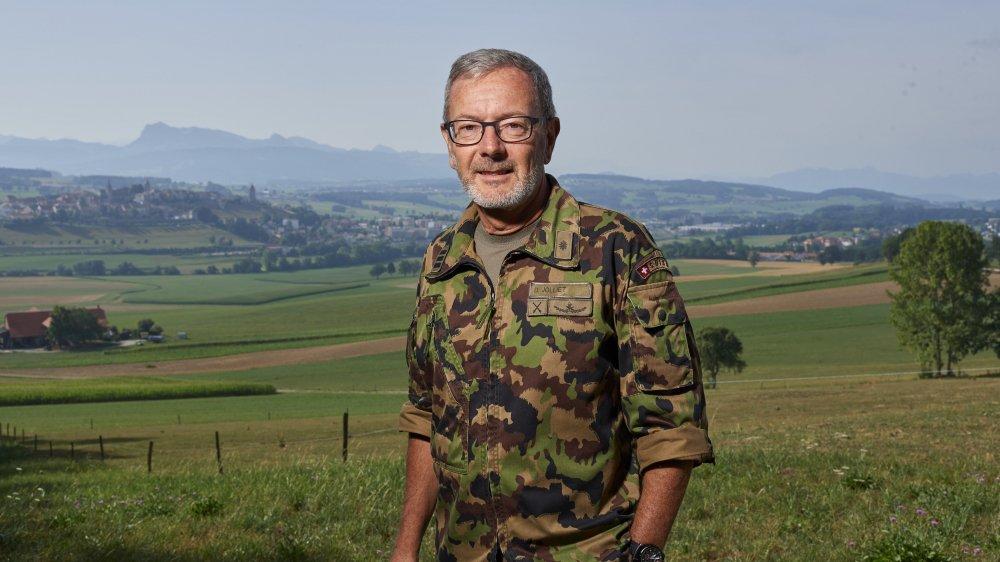 Avant de devenir commandant, Daniel Jolliet a pris part à sept reprises à la Patrouille des glaciers.