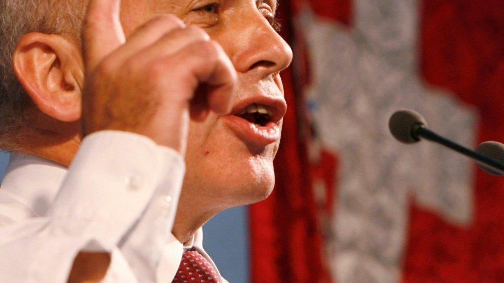 Le site de la Confédération recense sur son site internet tous les discours présidentiels prononcés, depuis 1985, à l'occasion de la Fête nationale (ici, Ueli Maurer, président de la Confédération en 2013).