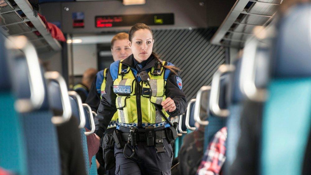 La police du rail est incriminée