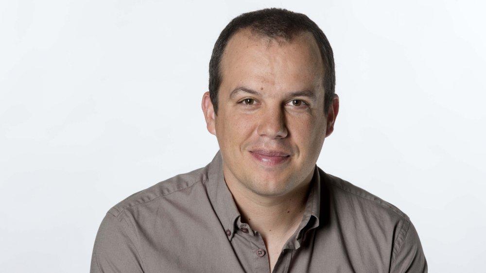 David Vaquin, journaliste.